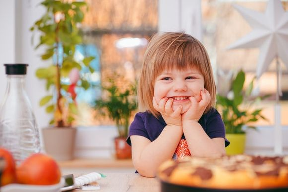 food useful for children's mental development