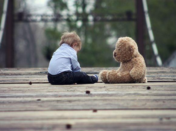 домашният любимец е приятел на детето