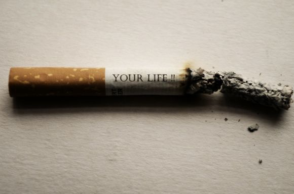 кудзу против тютюнопушене